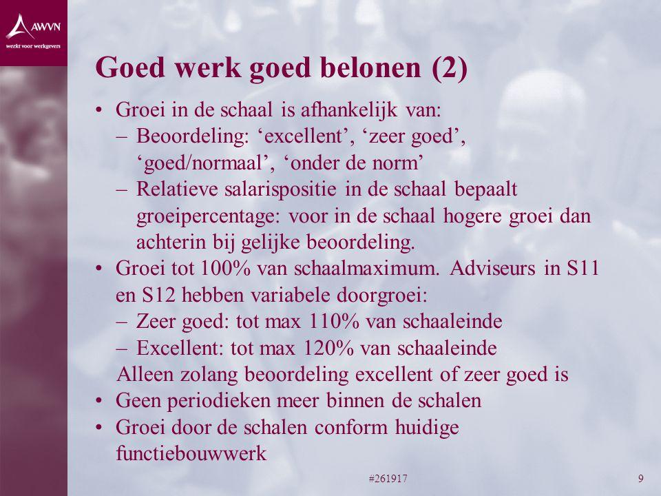 Goed werk goed belonen (2)