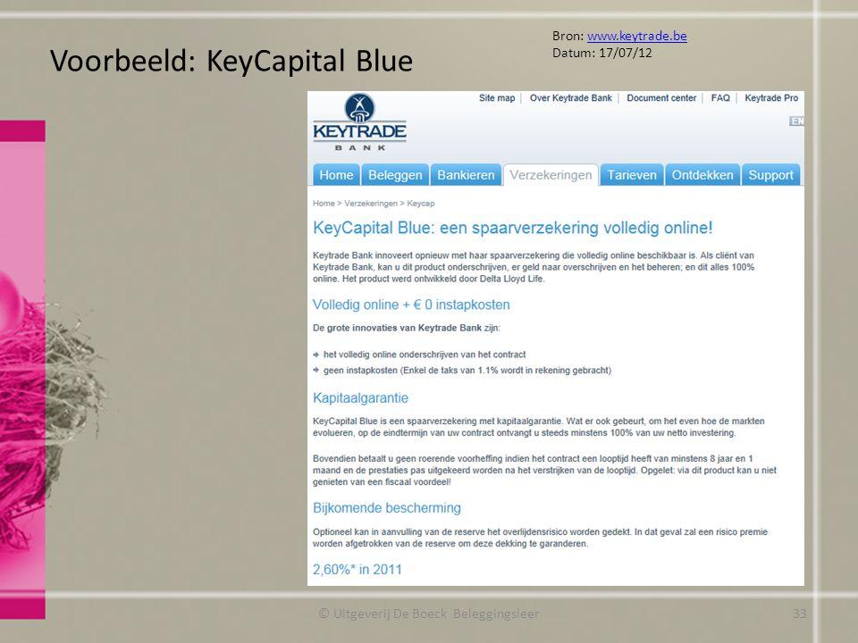 Voorbeeld: KeyCapital Blue