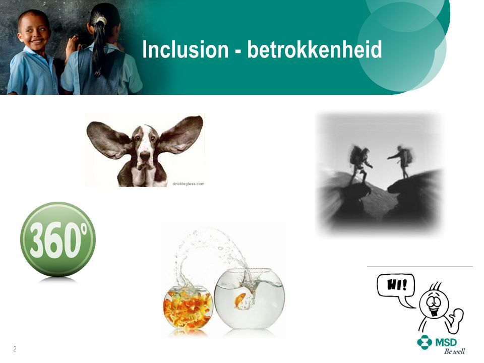 Inclusion - betrokkenheid