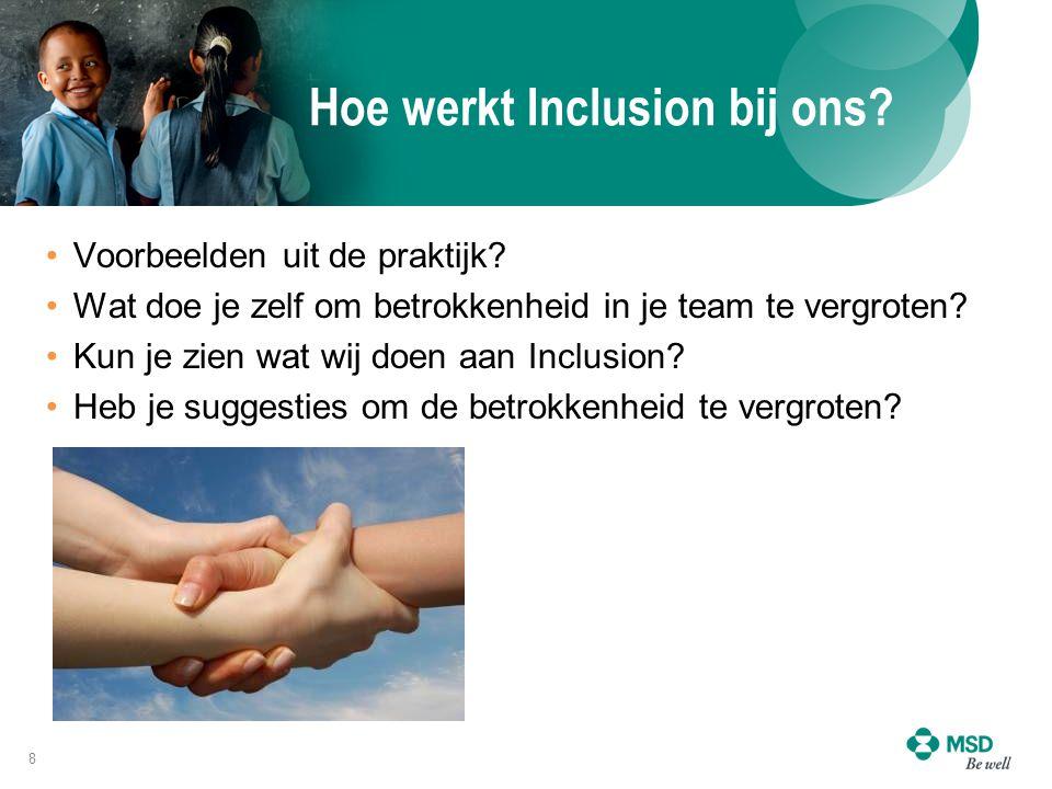 Hoe werkt Inclusion bij ons