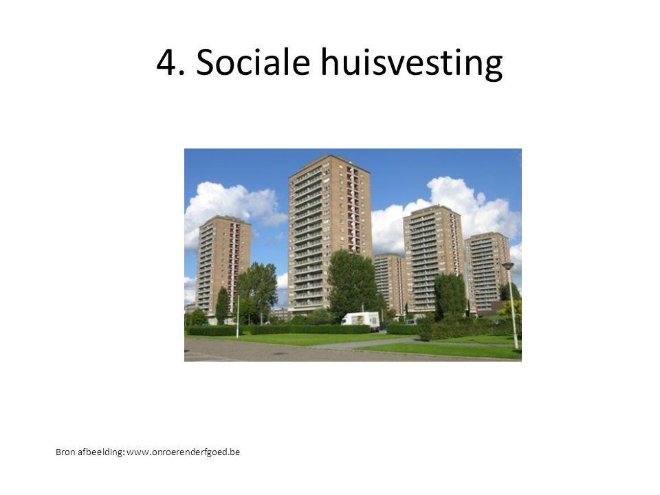 4. Sociale huisvesting Bron afbeelding: www.onroerenderfgoed.be