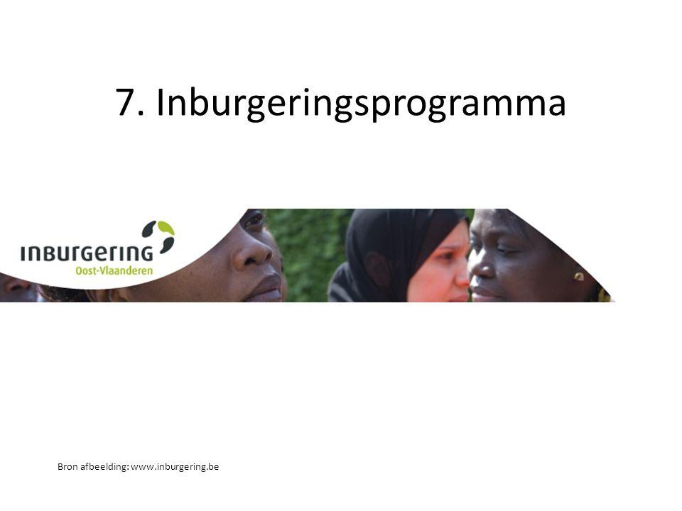 7. Inburgeringsprogramma