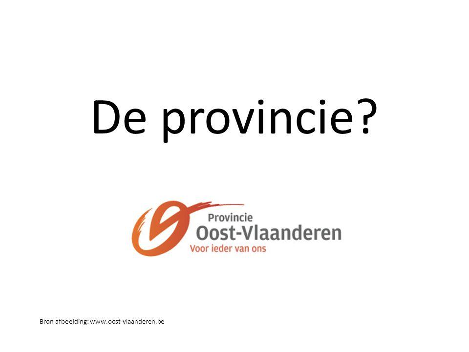 De provincie Bron afbeelding: www.oost-vlaanderen.be