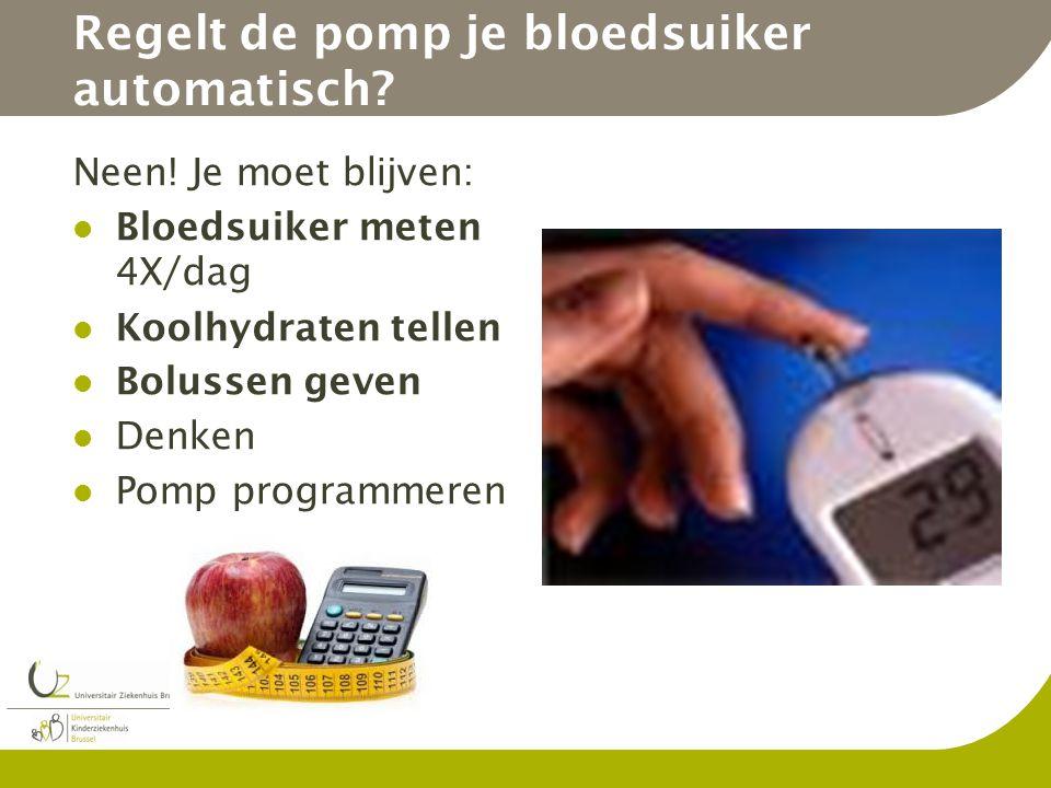 Regelt de pomp je bloedsuiker automatisch