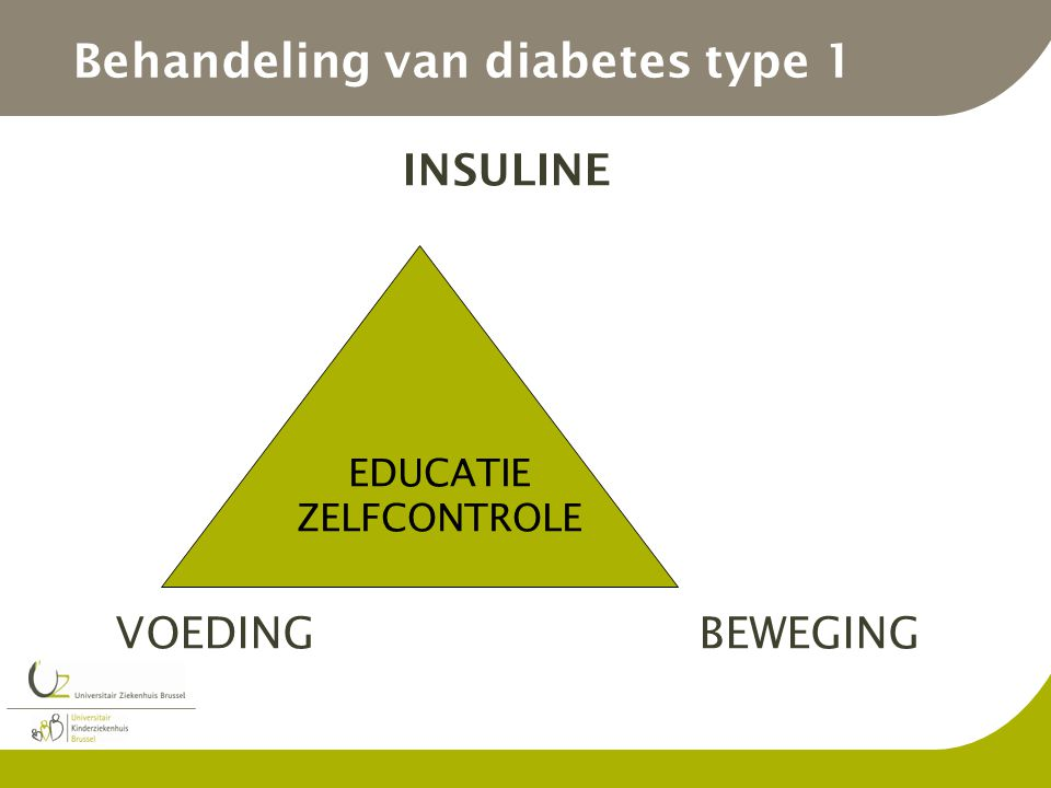 Behandeling van diabetes type 1