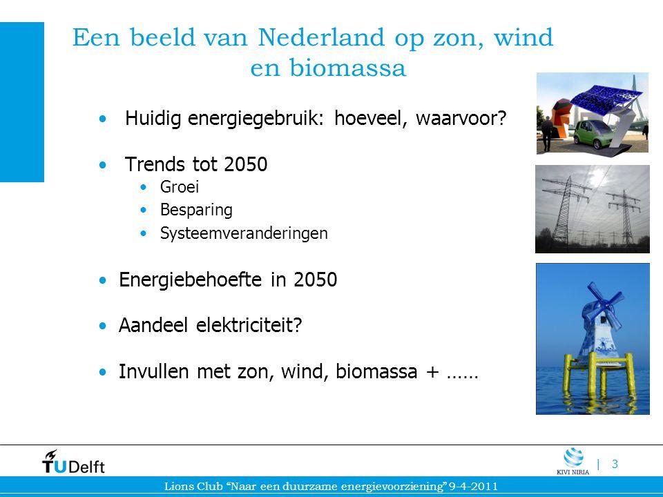 Een beeld van Nederland op zon, wind en biomassa
