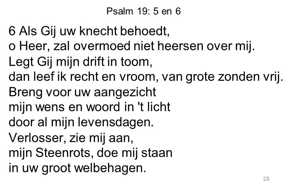 Psalm 19: 5 en 6