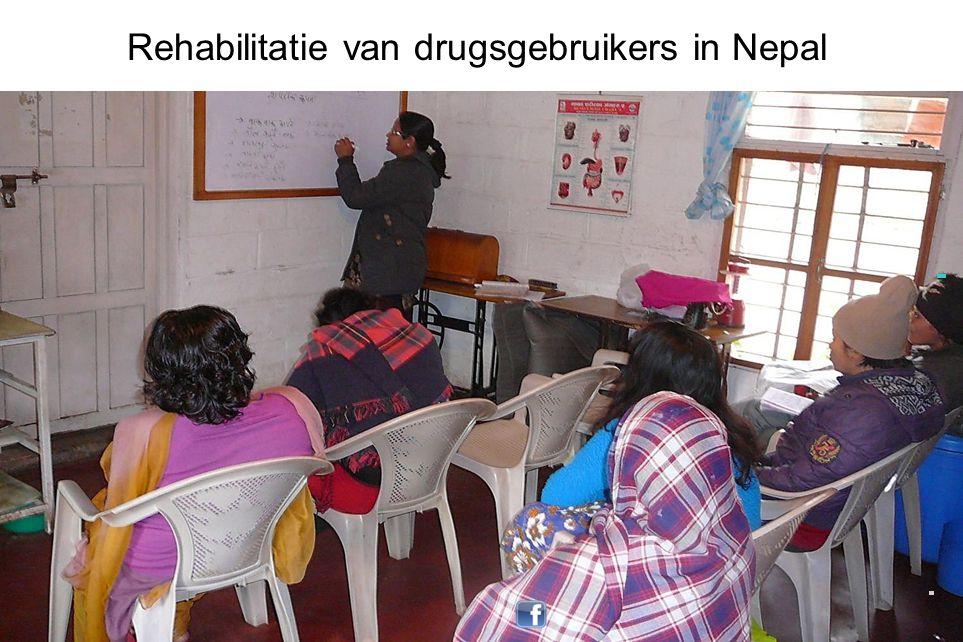 Rehabilitatie van drugsgebruikers in Nepal