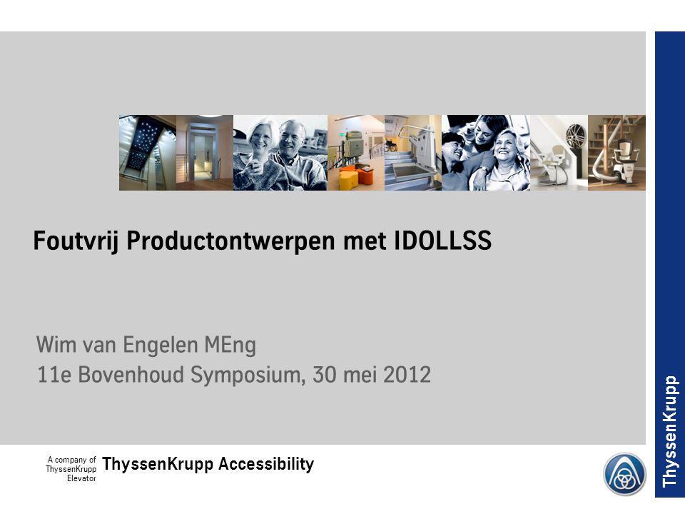 Foutvrij Productontwerpen met IDOLLSS