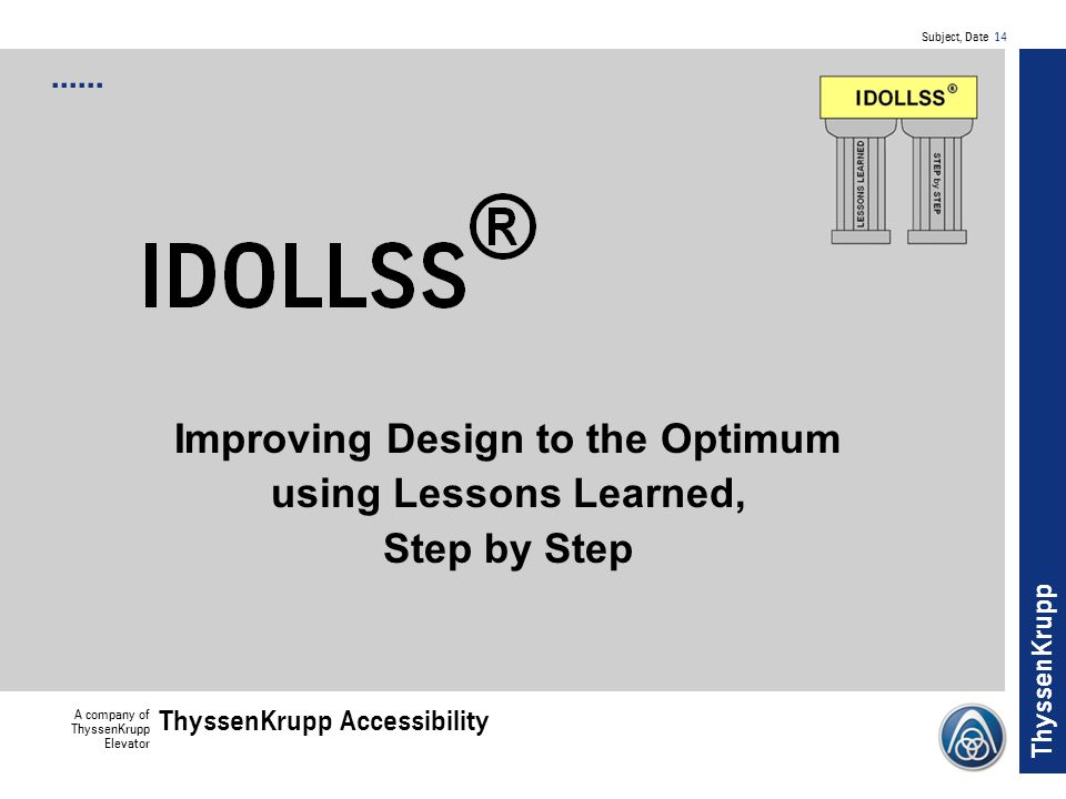 Improving Design to the Optimum using Lessons Learned, Step by Step
