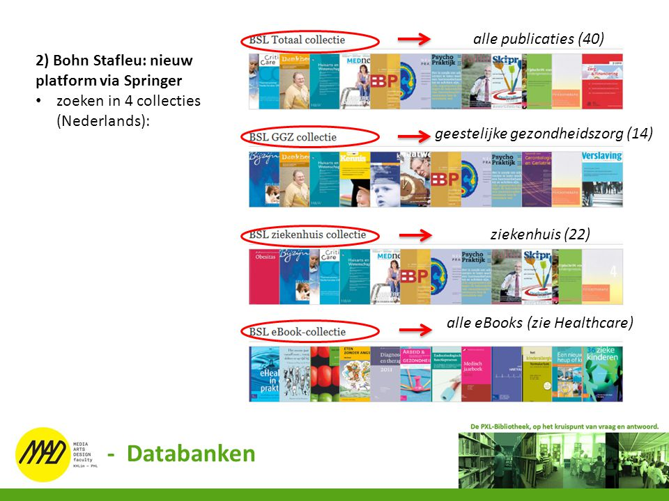- Databanken alle publicaties (40)