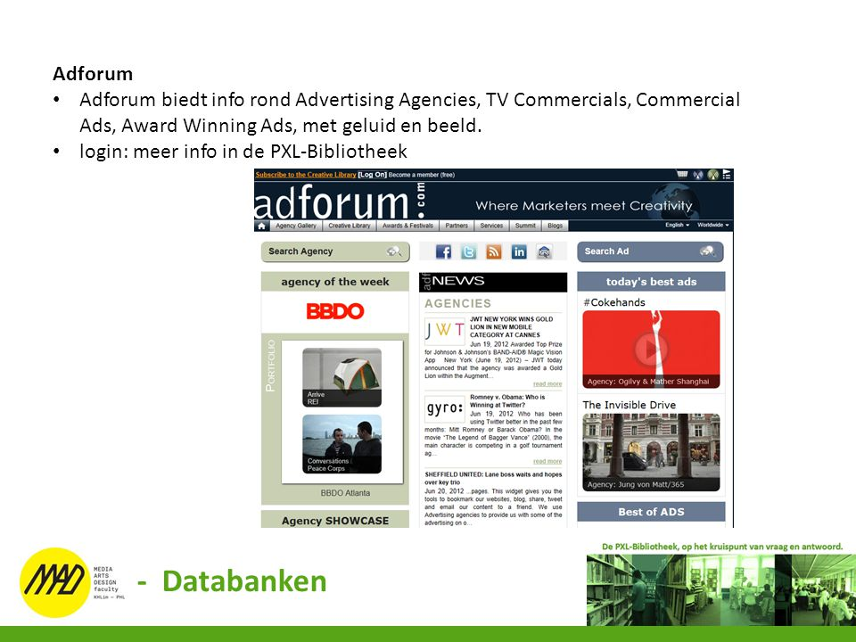 Adforum Adforum biedt info rond Advertising Agencies, TV Commercials, Commercial Ads, Award Winning Ads, met geluid en beeld.