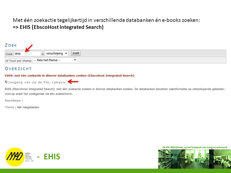 Met één zoekactie tegelijkertijd in verschillende databanken én e-books zoeken: