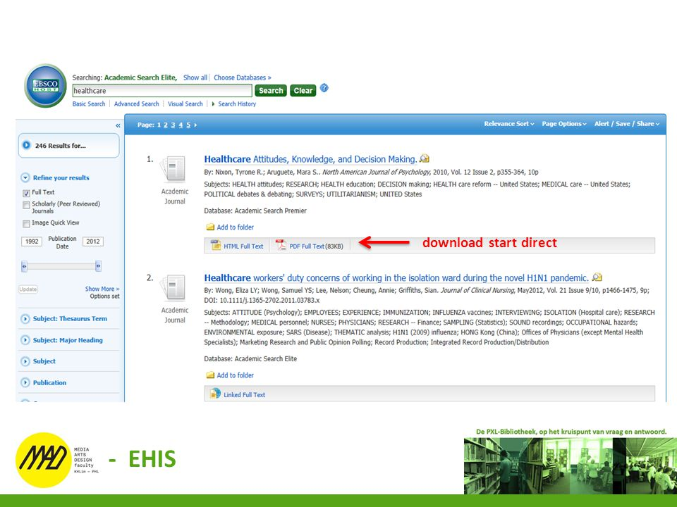 download start direct - EHIS