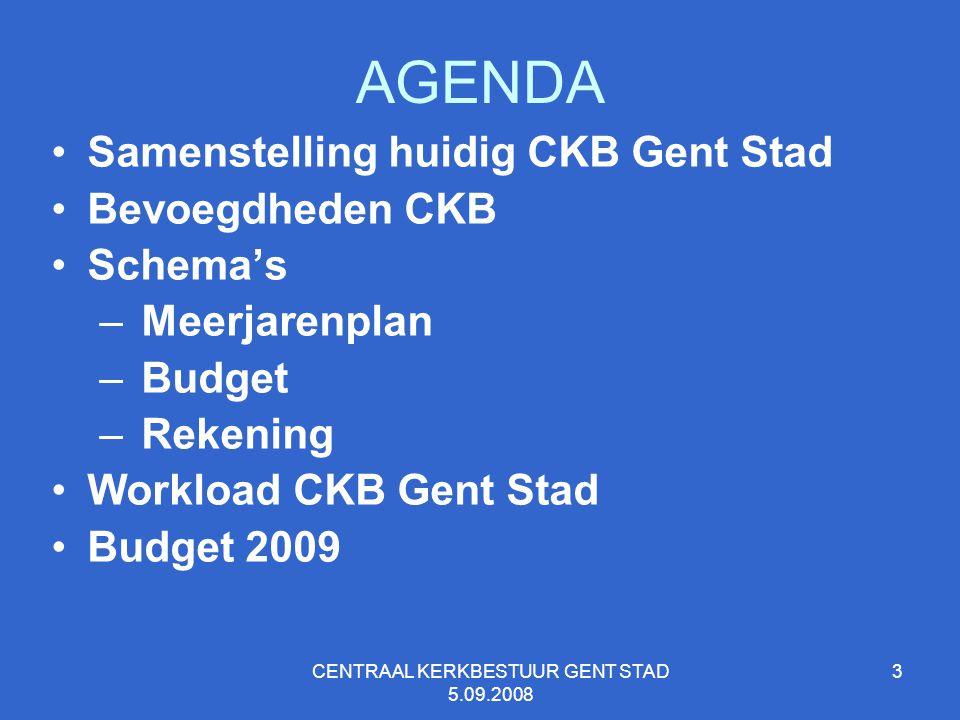 CENTRAAL KERKBESTUUR GENT STAD 5.09.2008