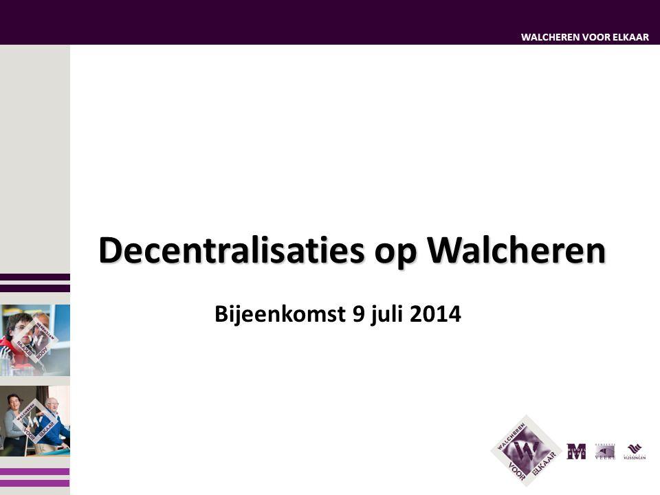 Decentralisaties op Walcheren