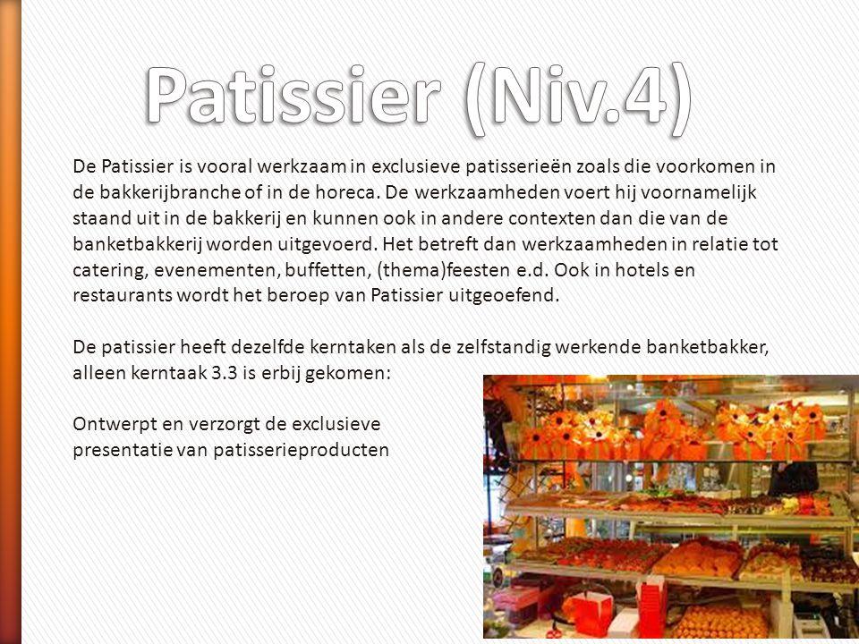 Patissier (Niv.4)