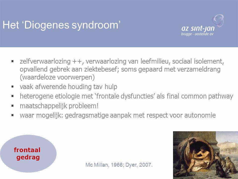 Het 'Diogenes syndroom'