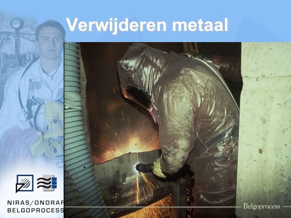 Verwijderen metaal