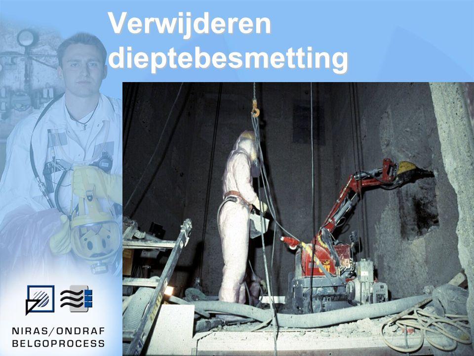 Verwijderen dieptebesmetting