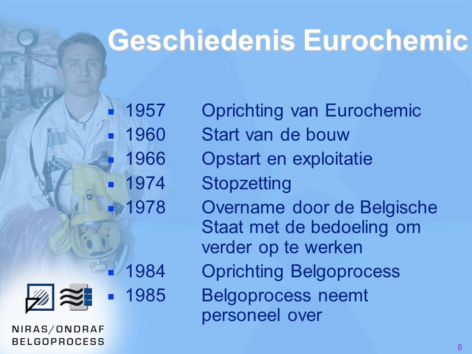Geschiedenis Eurochemic