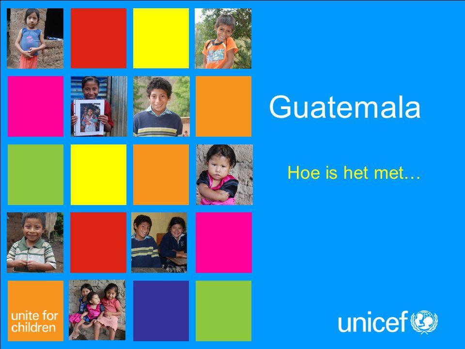 Guatemala Hoe is het met…