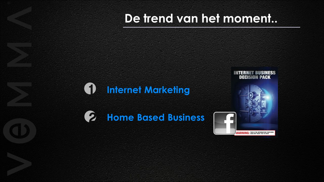 De trend van het moment.. Internet Marketing Home Based Business