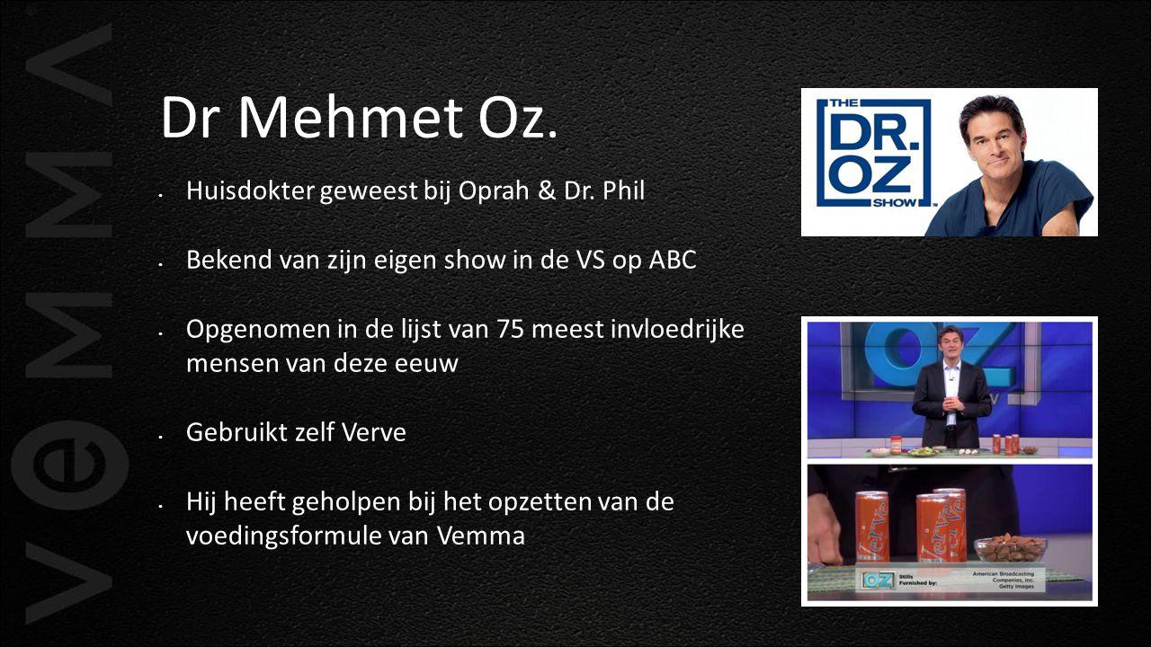 Dr Mehmet Oz. Huisdokter geweest bij Oprah & Dr. Phil