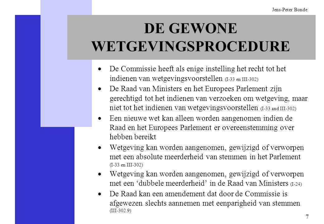 DE GEWONE WETGEVINGSPROCEDURE