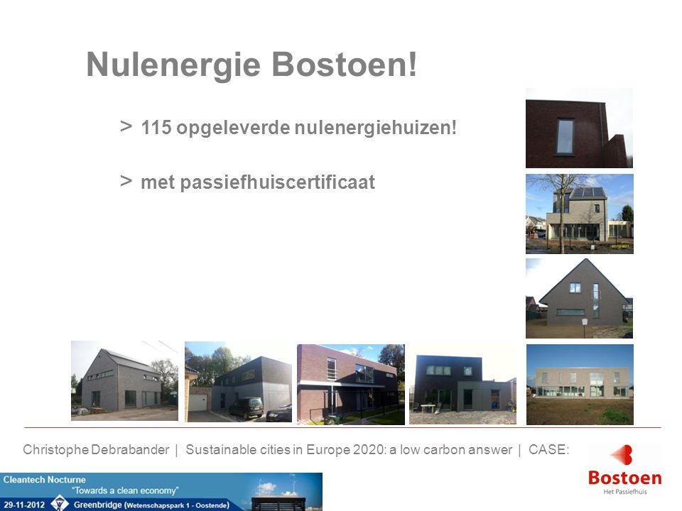 Nulenergie Bostoen! 115 opgeleverde nulenergiehuizen!