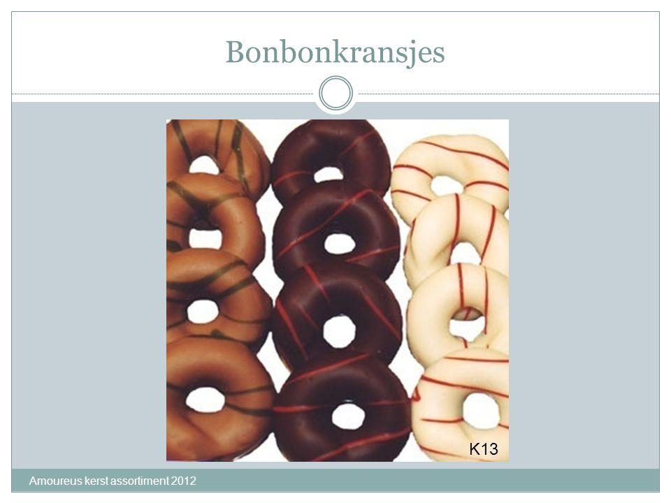 Bonbonkransjes K13 Amoureus kerst assortiment 2012