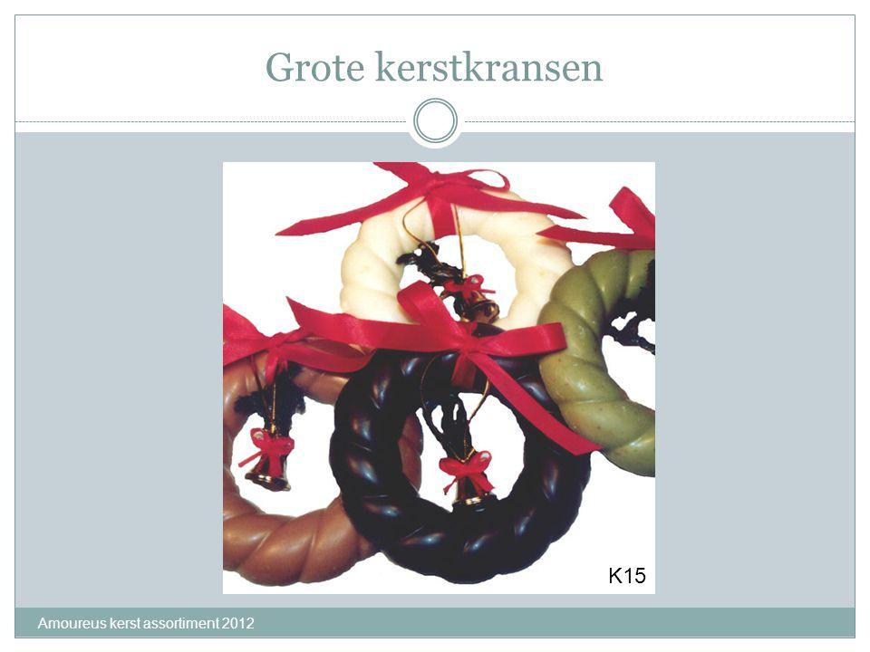 Grote kerstkransen K15 Amoureus kerst assortiment 2012