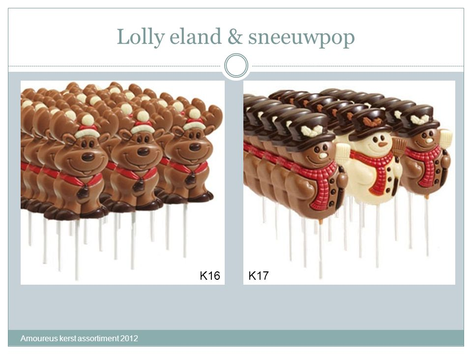 Lolly eland & sneeuwpop