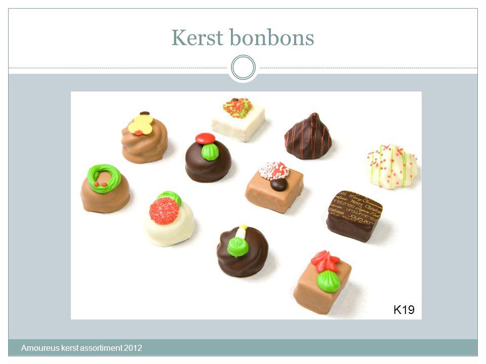 Kerst bonbons K19 Amoureus kerst assortiment 2012