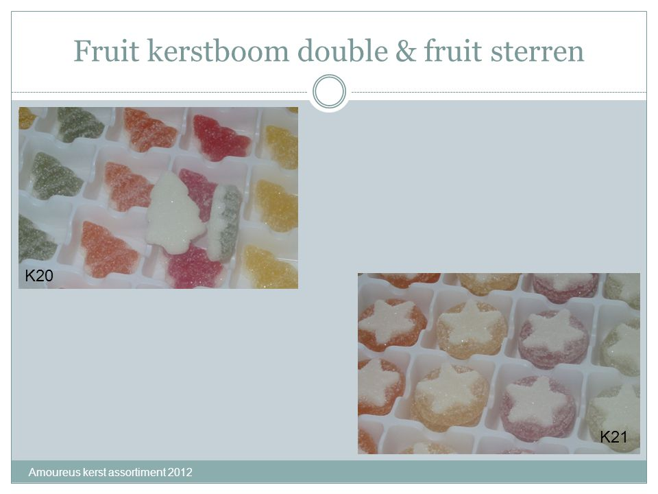 Fruit kerstboom double & fruit sterren