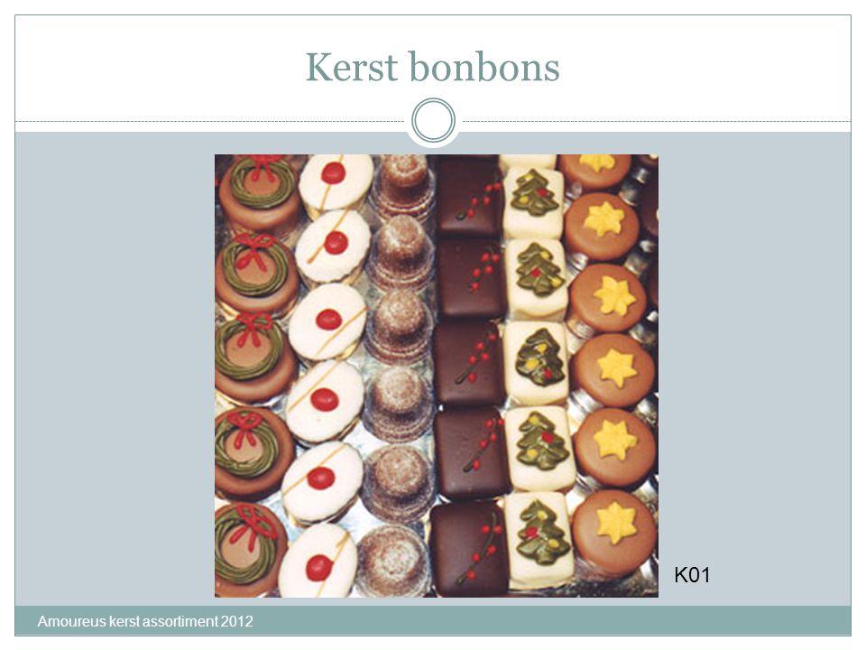 Kerst bonbons K01 Amoureus kerst assortiment 2012