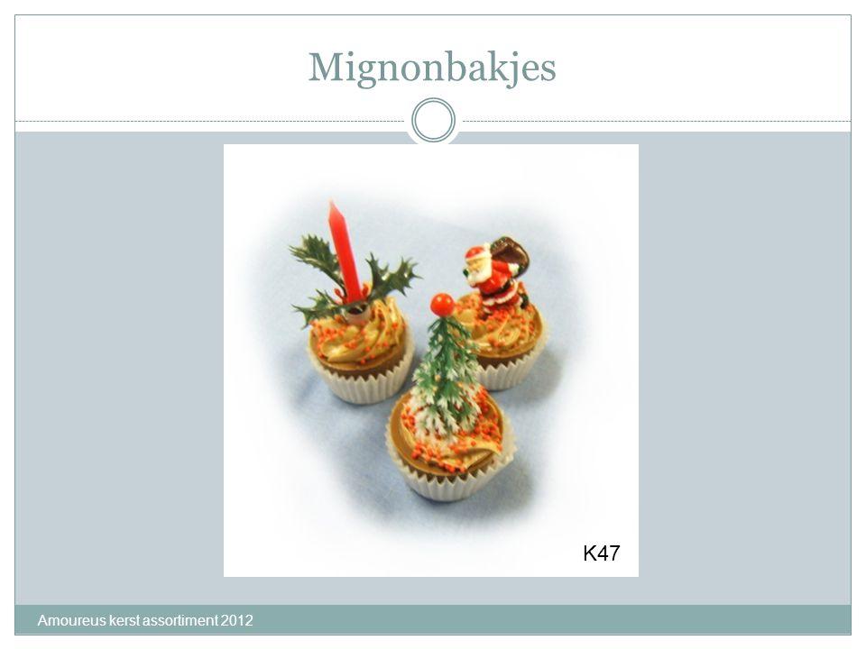 Mignonbakjes K47 Amoureus kerst assortiment 2012