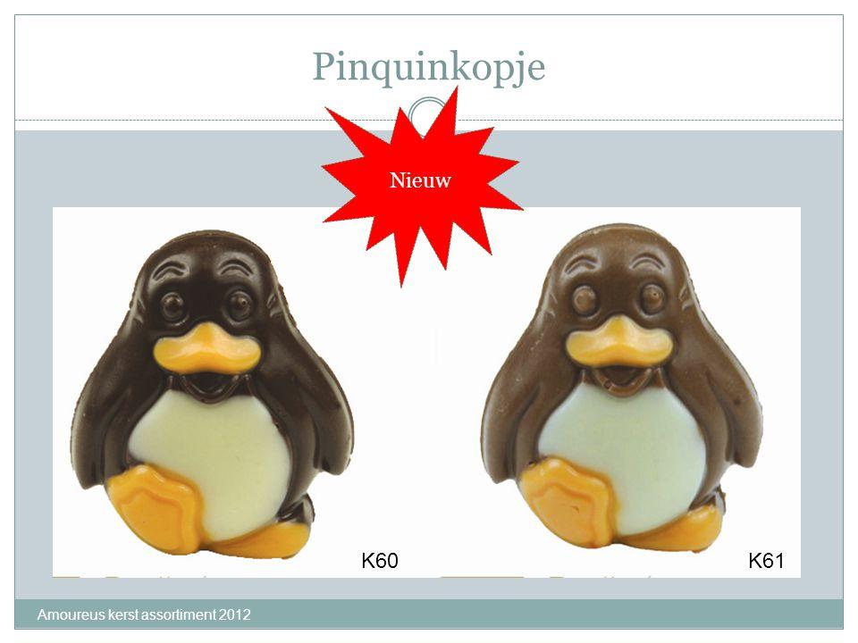 Pinquinkopje Nieuw K60 K61 Amoureus kerst assortiment 2012