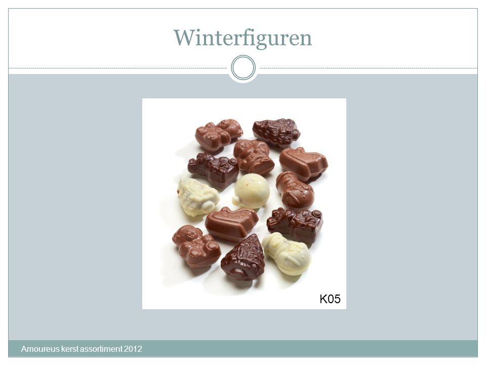 Winterfiguren K05 Amoureus kerst assortiment 2012
