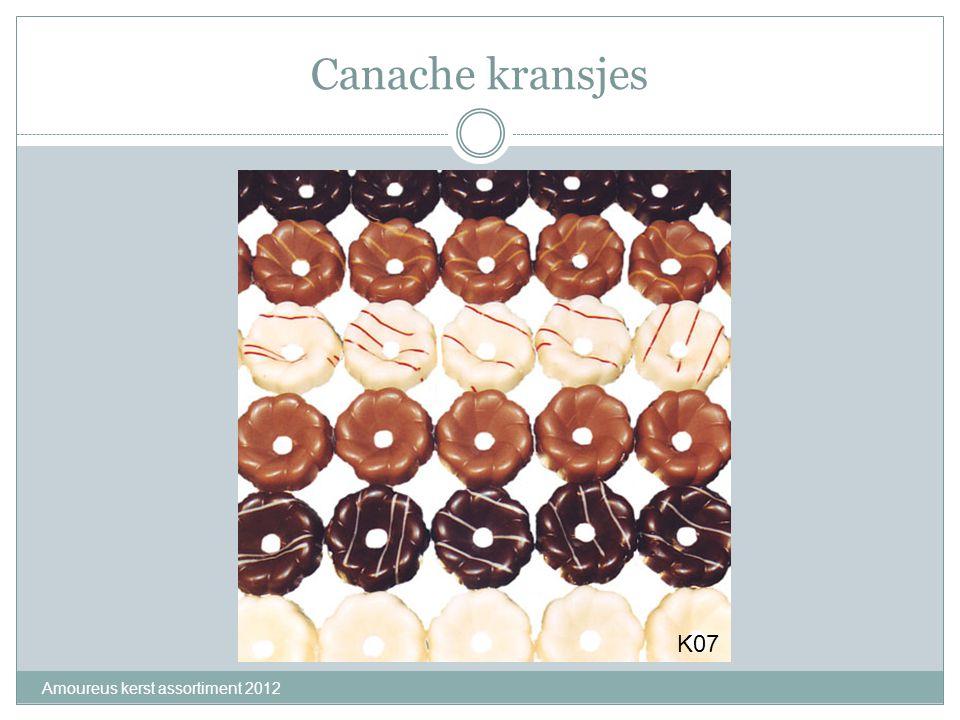 Canache kransjes K07 Amoureus kerst assortiment 2012