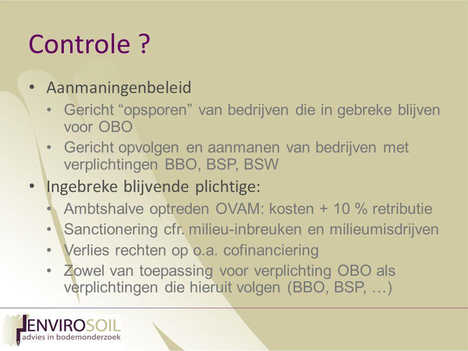Controle Aanmaningenbeleid Ingebreke blijvende plichtige: