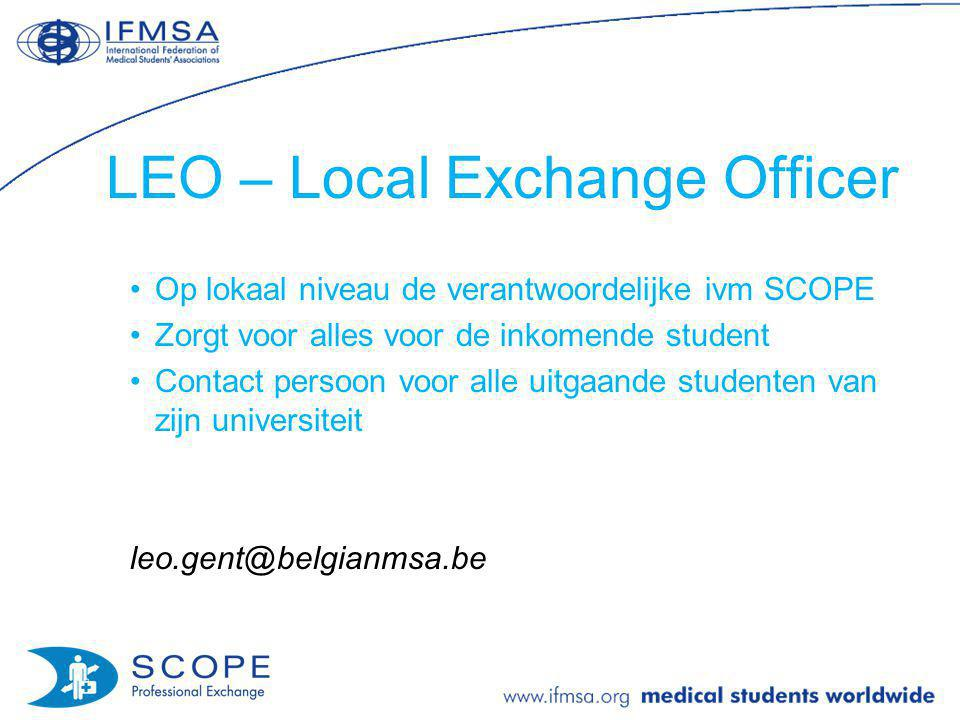 LEO – Local Exchange Officer