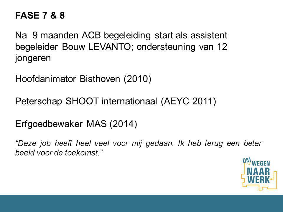 Hoofdanimator Bisthoven (2010)