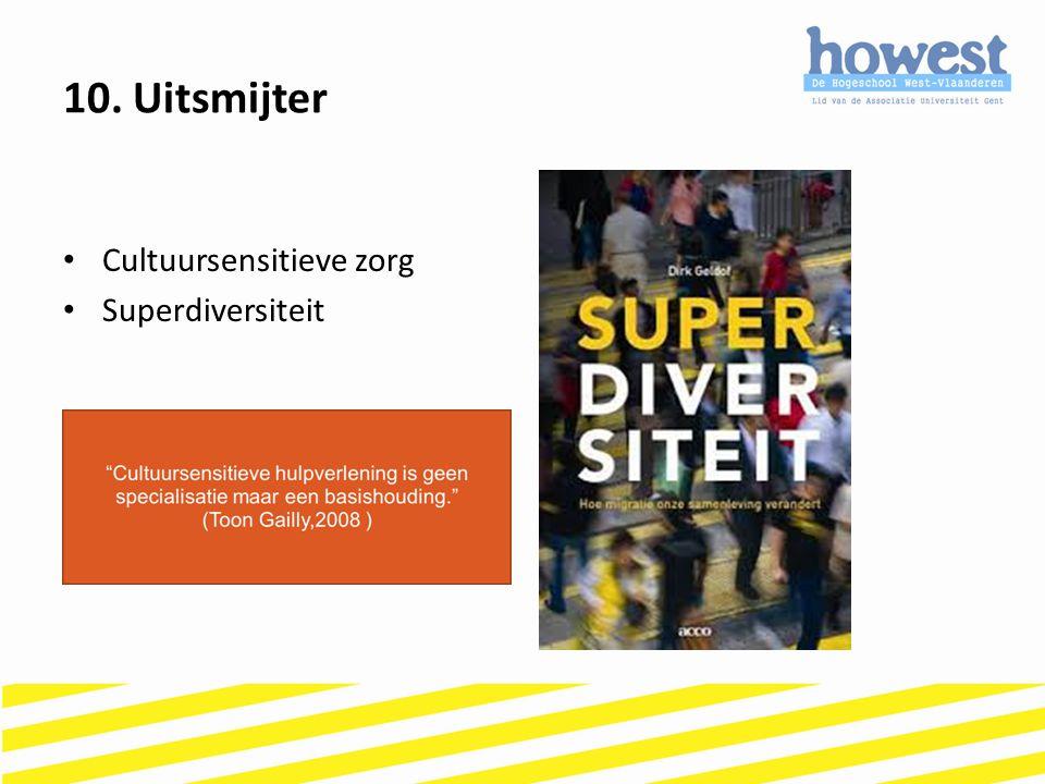 10. Uitsmijter Cultuursensitieve zorg Superdiversiteit
