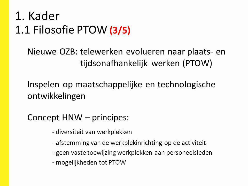 1. Kader 1.1 Filosofie PTOW (3/5)