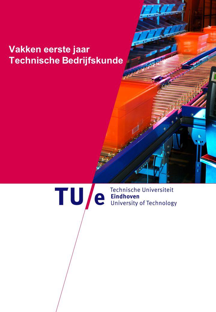 Vakken eerste jaar Technische Bedrijfskunde