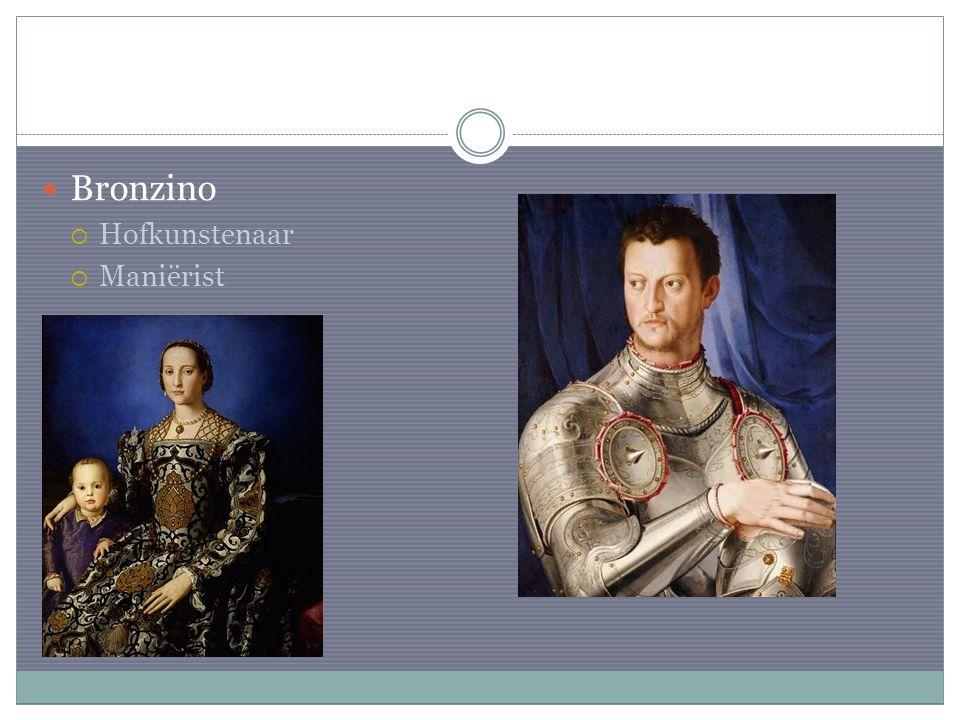 Bronzino Hofkunstenaar Maniërist