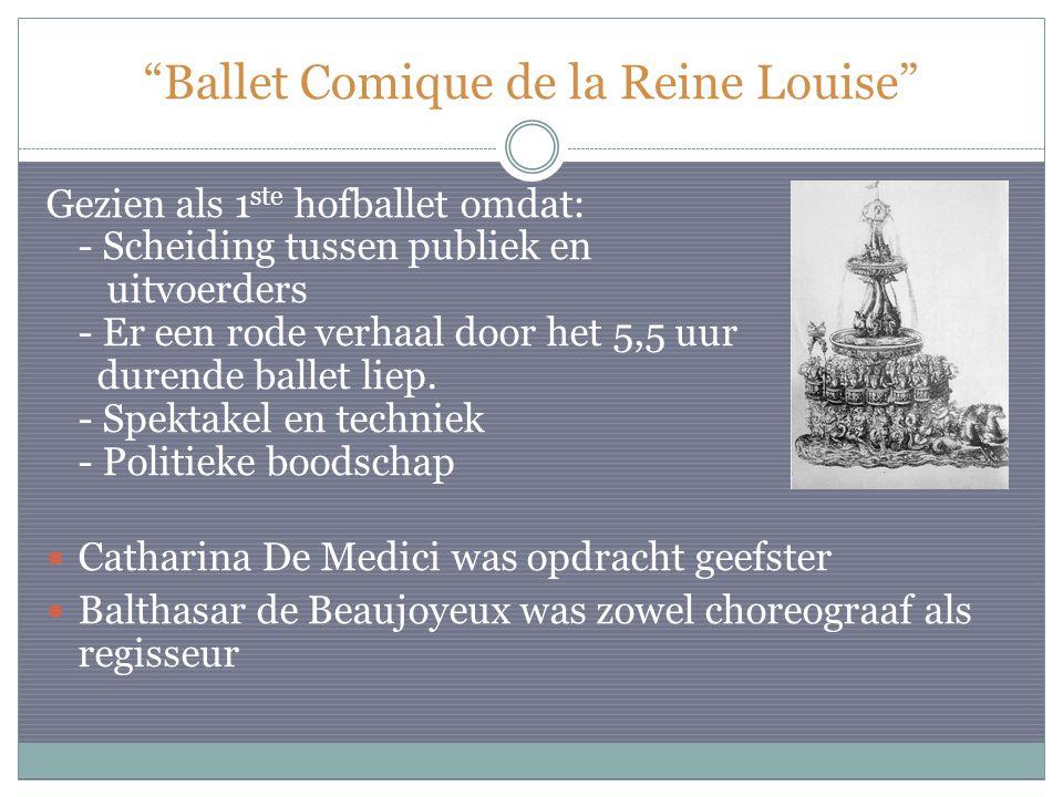 Ballet Comique de la Reine Louise