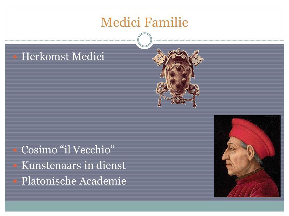 Medici Familie Herkomst Medici Cosimo il Vecchio