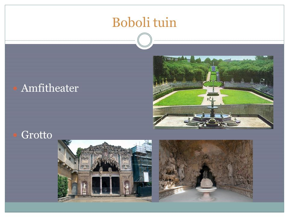 Boboli tuin Amfitheater Grotto